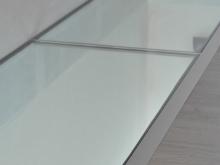 Plancher en verre feuilleté