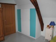 Chambre à coucher en MDF hydrofuge peint
